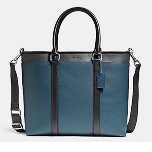 Coach Perry Leather Business Tote